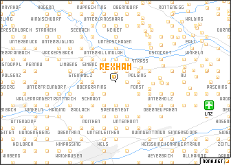 map of Rexham