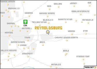 map of Reynoldsburg