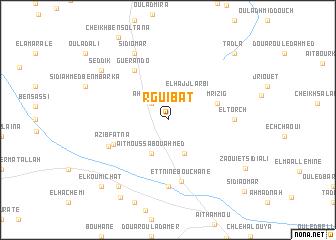 map of Rguibat