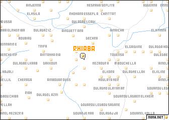 map of Rhiaba