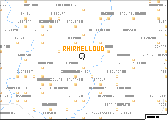 map of Rhir Melloud