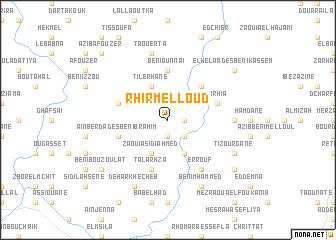 map of Rhir Melloud