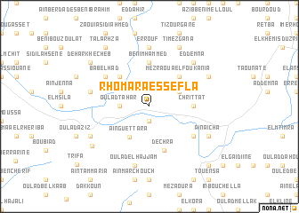 map of Rhomara es Sefla