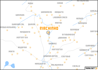 map of Riachinho