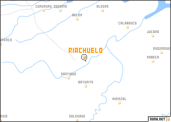 map of Riachuelo