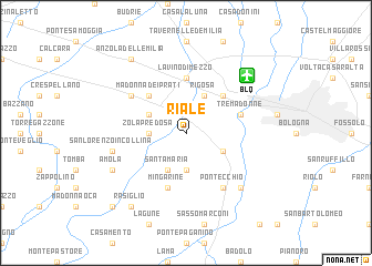 map of Riale