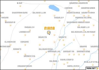 map of Riana