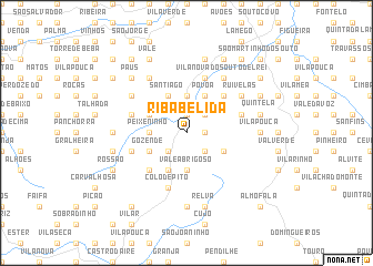 map of Ribabelida
