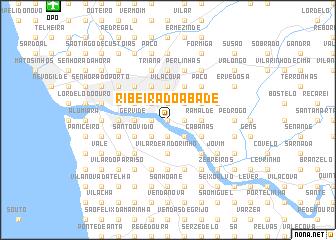 map of Ribeira do Abade