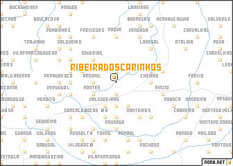 map of Ribeira dos Carinhos