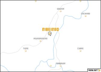map of Ribeirão