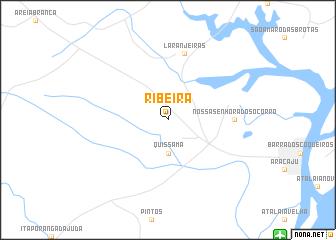 map of Ribeira