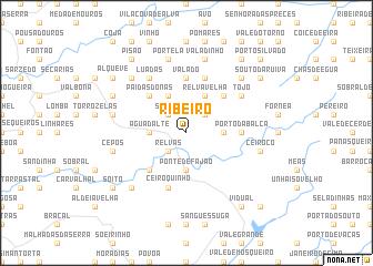 map of Ribeiro