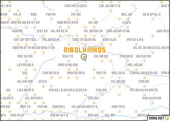 map of Ribolhinhos