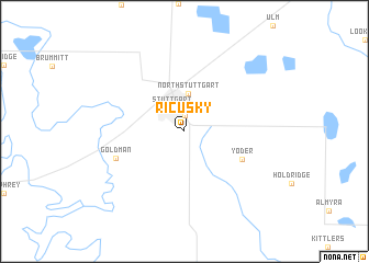 map of Ricusky