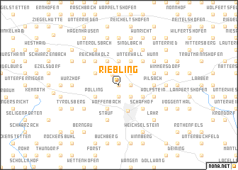 map of Riebling