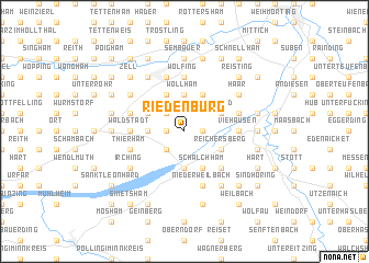 map of Riedenburg