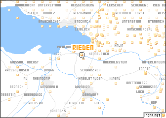 map of Rieden