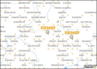 map of Riedhof