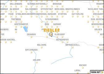 map of Riedler