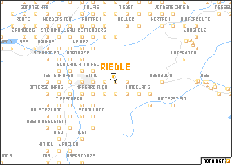 map of Riedle
