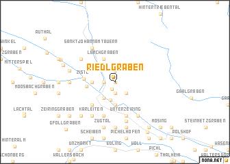 map of Riedlgraben