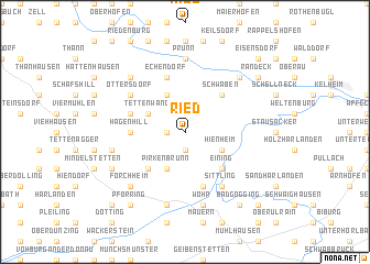 map of Ried