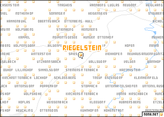 map of Riegelstein