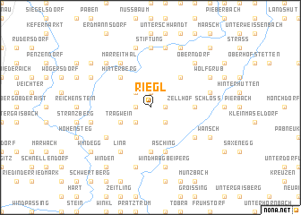 map of Riegl