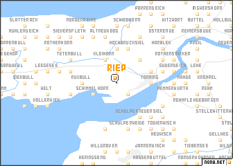 map of Riep