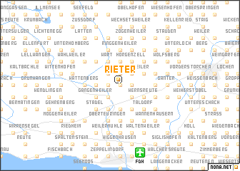 map of Rieter