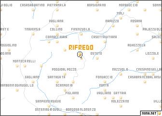 map of Rifredo