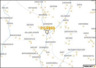 map of Rīgābād