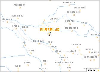 map of Riisselja