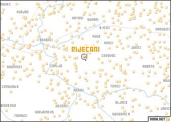 map of Riječani