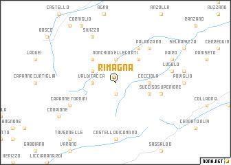 map of Rimagna