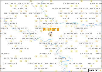 map of Rimbach
