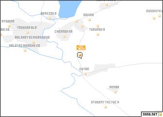 map of Rim