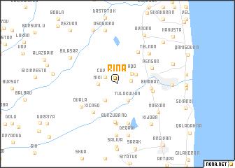 map of Rinǝ