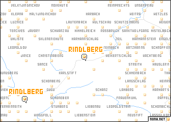 map of Rindlberg