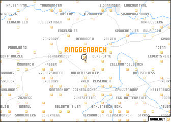 map of Ringgenbach