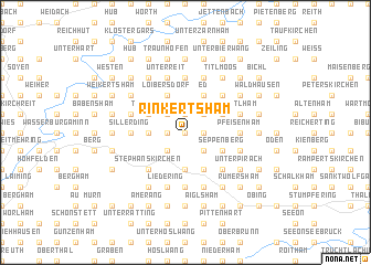 map of Rinkertsham