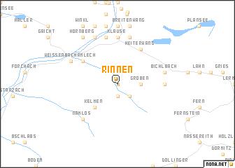 map of Rinnen