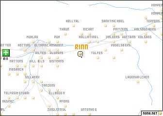 map of Rinn