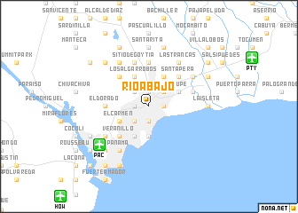 map of Río Abajo
