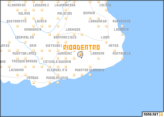 map of Río Adentro