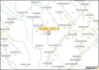 map of Río Blanco