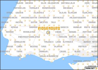 map of Rio de Mouro