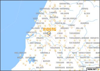map of Rioeng