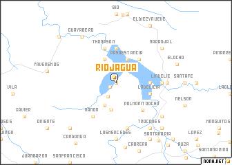 map of Rio Jagua